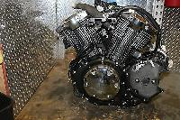 2008 YAMAHA V STAR 1300 XVS1300CT TOURER ENGINE MOTOR 46,571 MILES for sale  Shipping to Canada