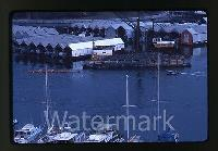 1977 Ektachrome Photo slide Bayshore Inn Hotel Vancouver Canada Boats Rowing  for sale  Shipping to Canada