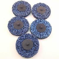 "Roloc style Paint Stripper ""T"" & ""R"" Type 3"" discs 5pc set Blue for sale  Shipping to Canada"