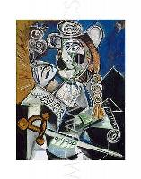 "PICASSO PABLO - LE MATADOR - Artwork Reproduction 14"" x 11"" (4127) for sale  Shipping to Canada"