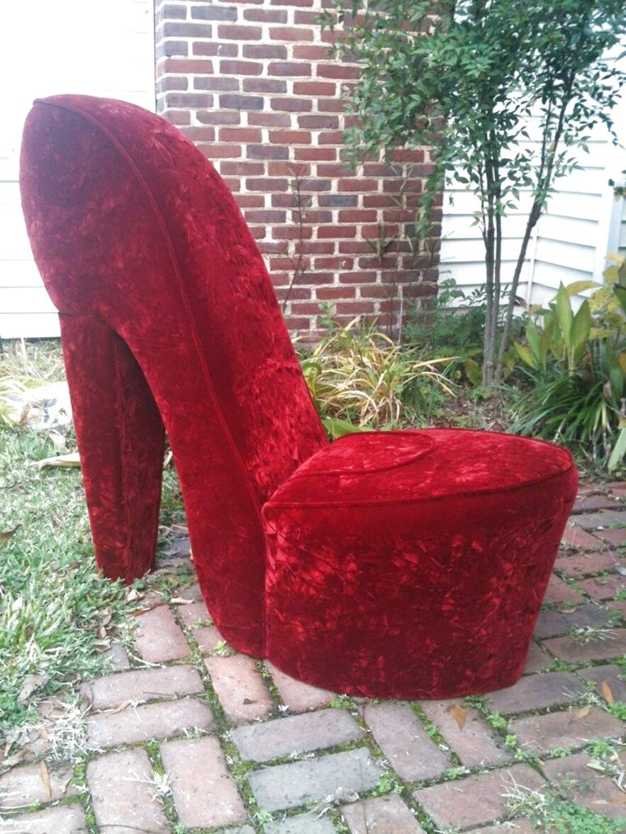 high heel chair for sale