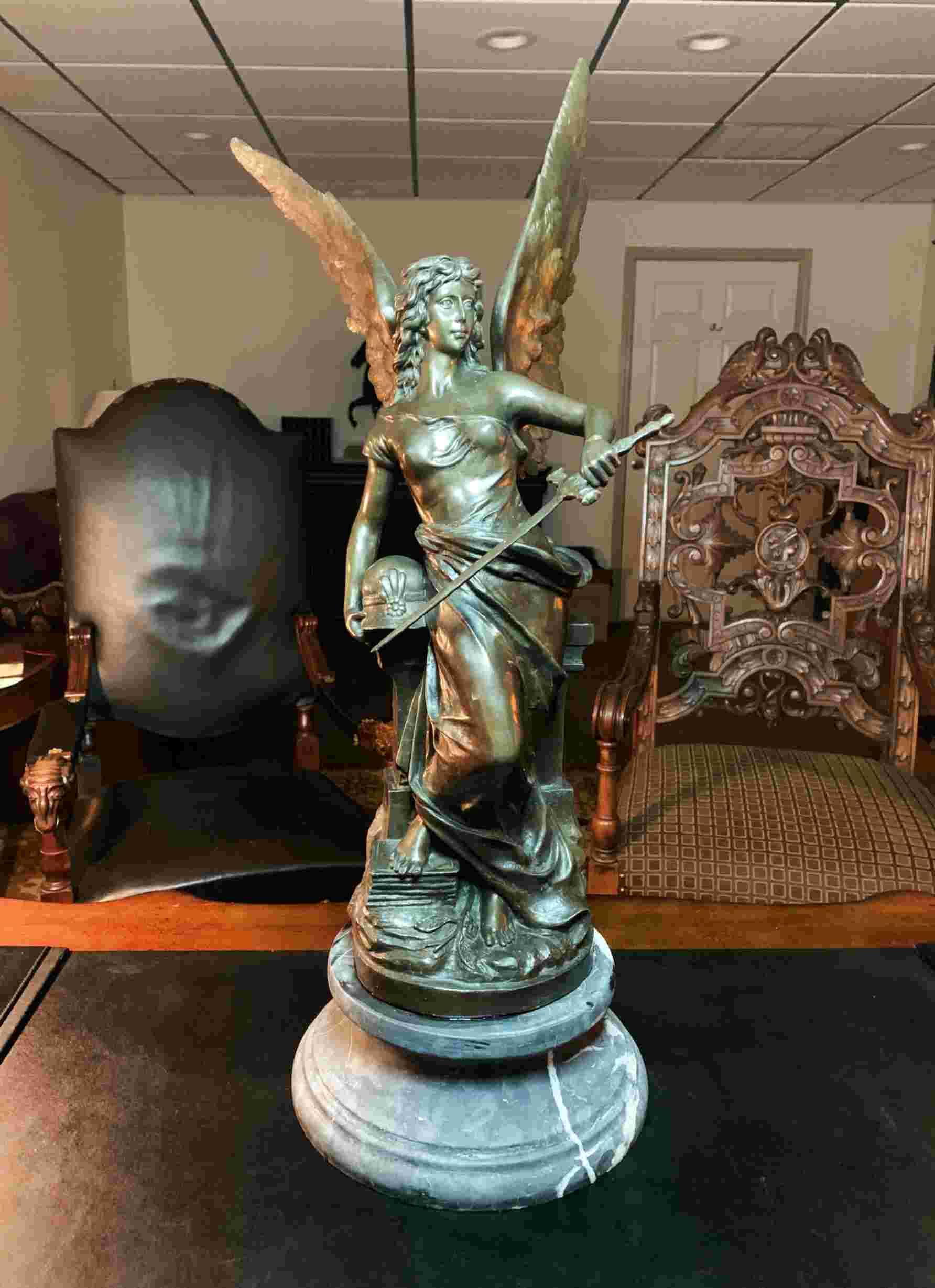 antique bronze sculpture for sale