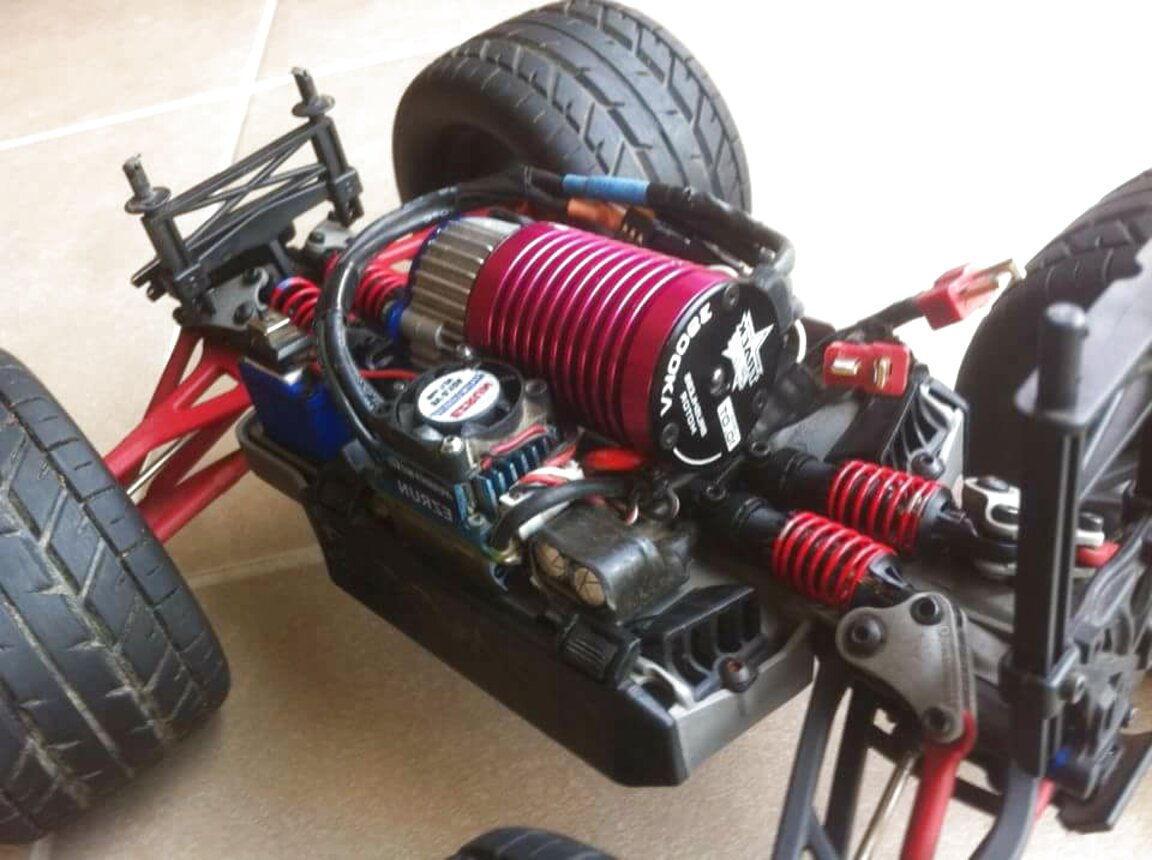 traxxas revo brushless for sale