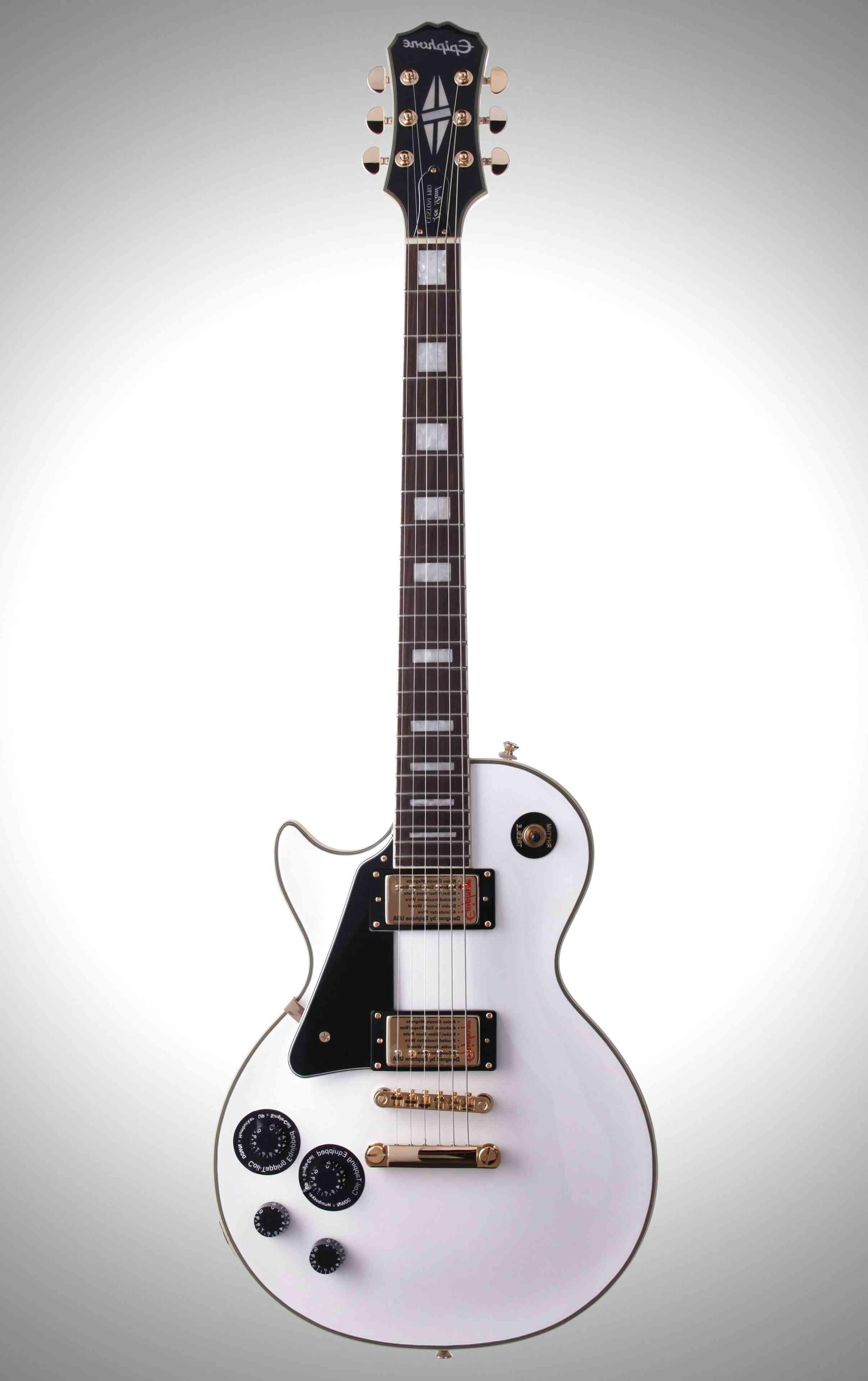 epiphone les paul custom alpine white for sale