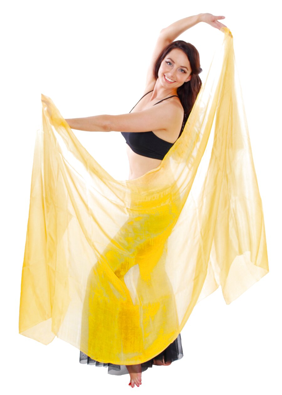 silk belly dance veils for sale