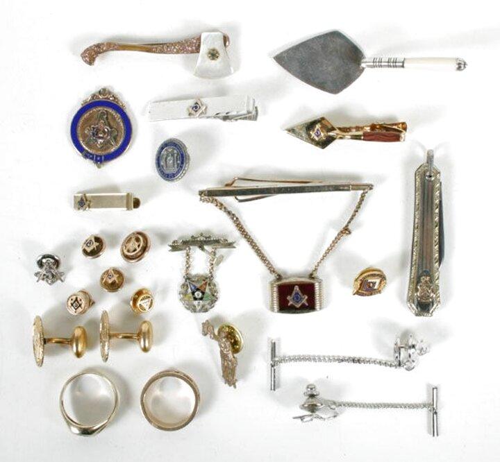 antique masonic jewels for sale