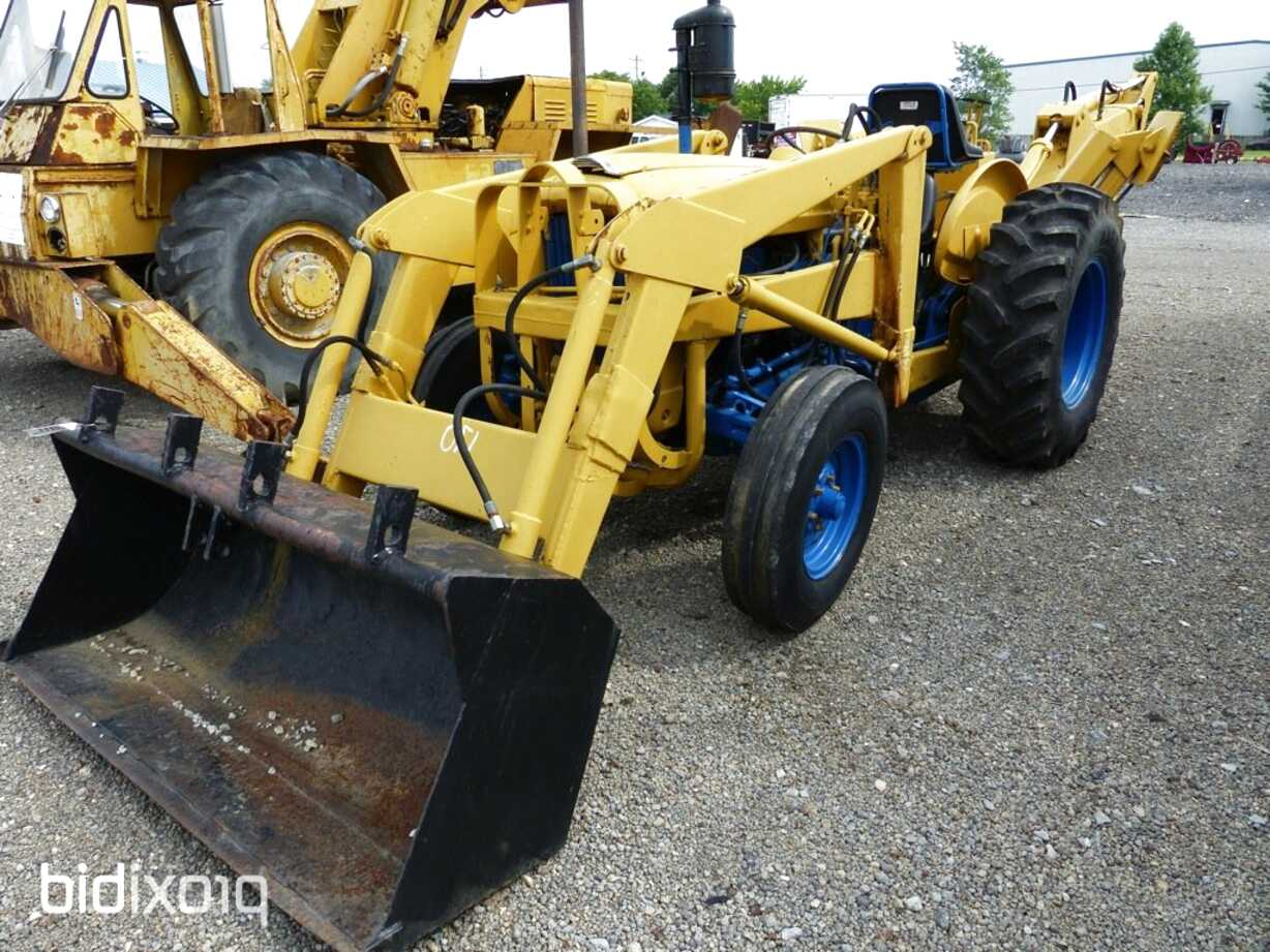 ford 4000 industrial tractor for sale