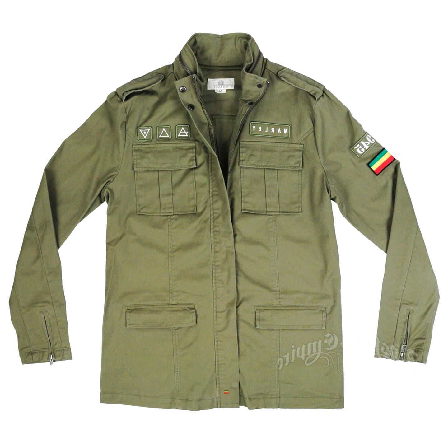 green military jacket for sale