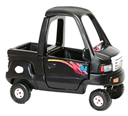 little tikes black truck for sale