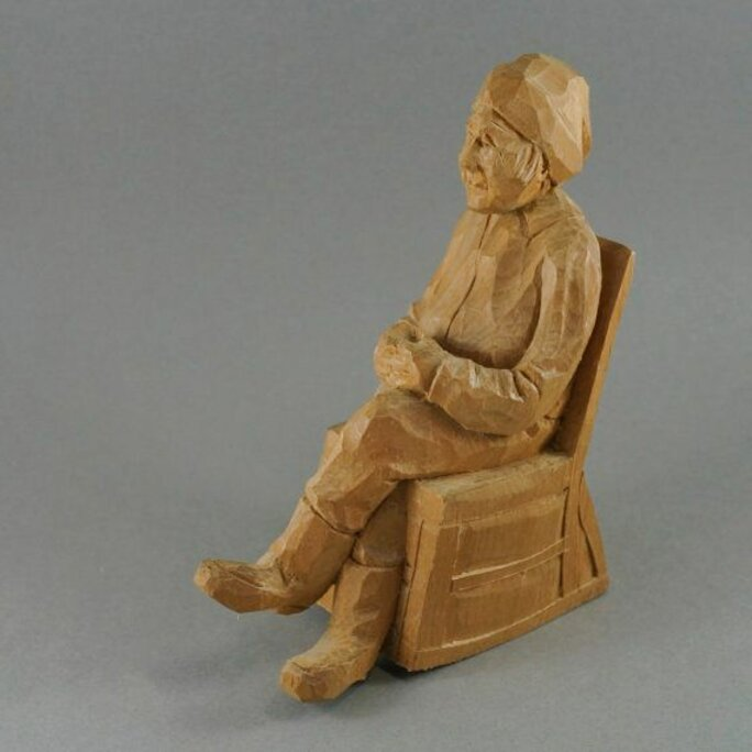 quebec wood carvings for sale