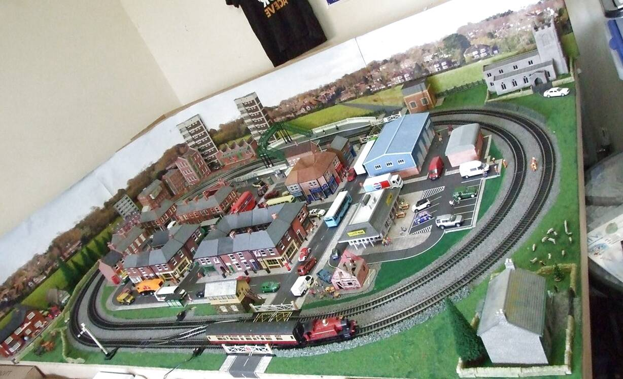 hornby layouts for sale