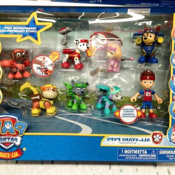 paw patrol figures for sale