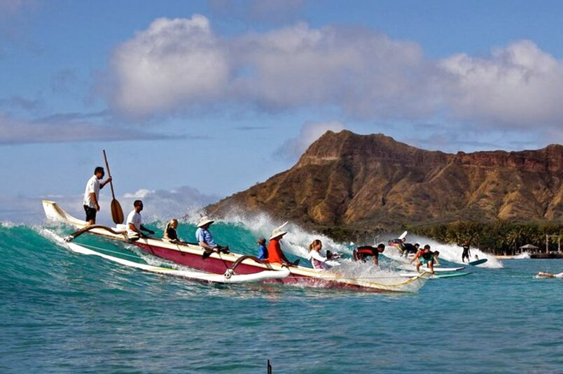 hawaiian outrigger canoe for sale