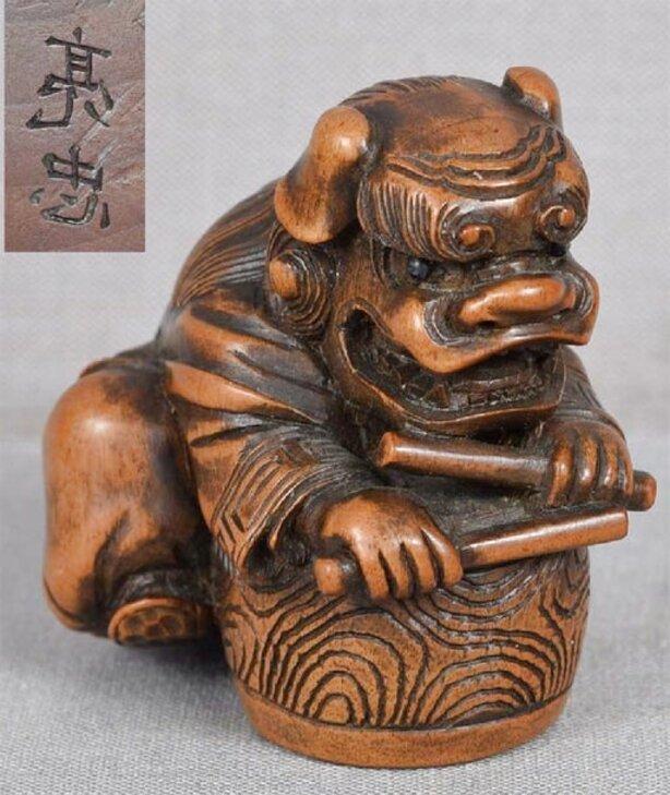 antique japanese netsuke for sale
