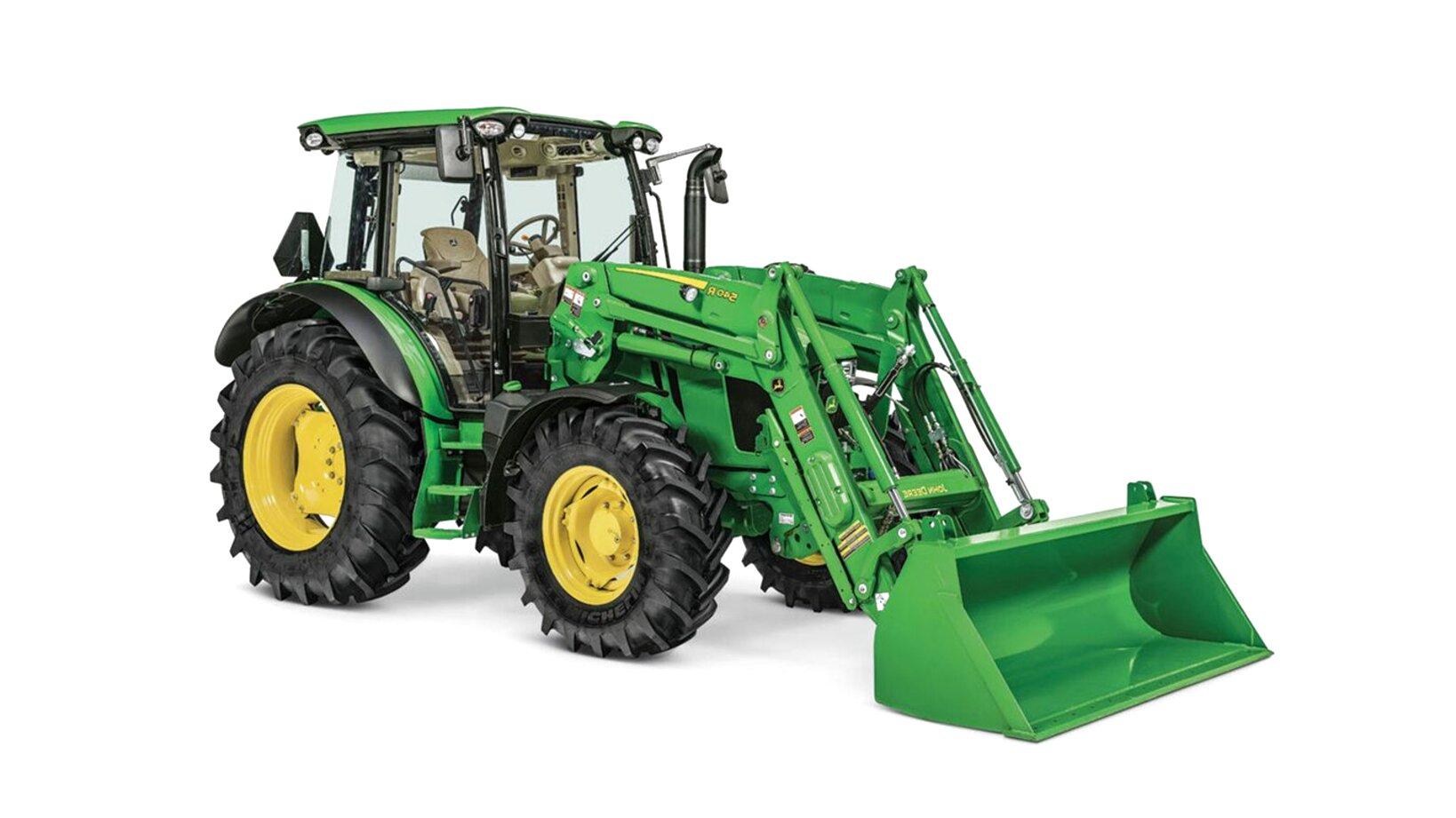 john deere tractor front end loader for sale