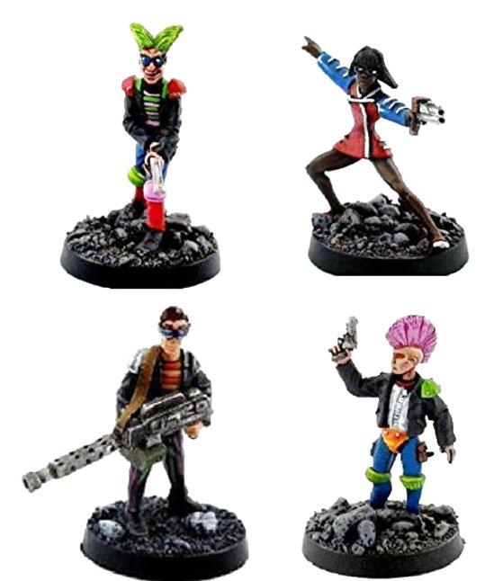 judge dredd miniatures for sale