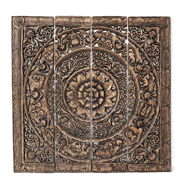 carved wood panels for sale