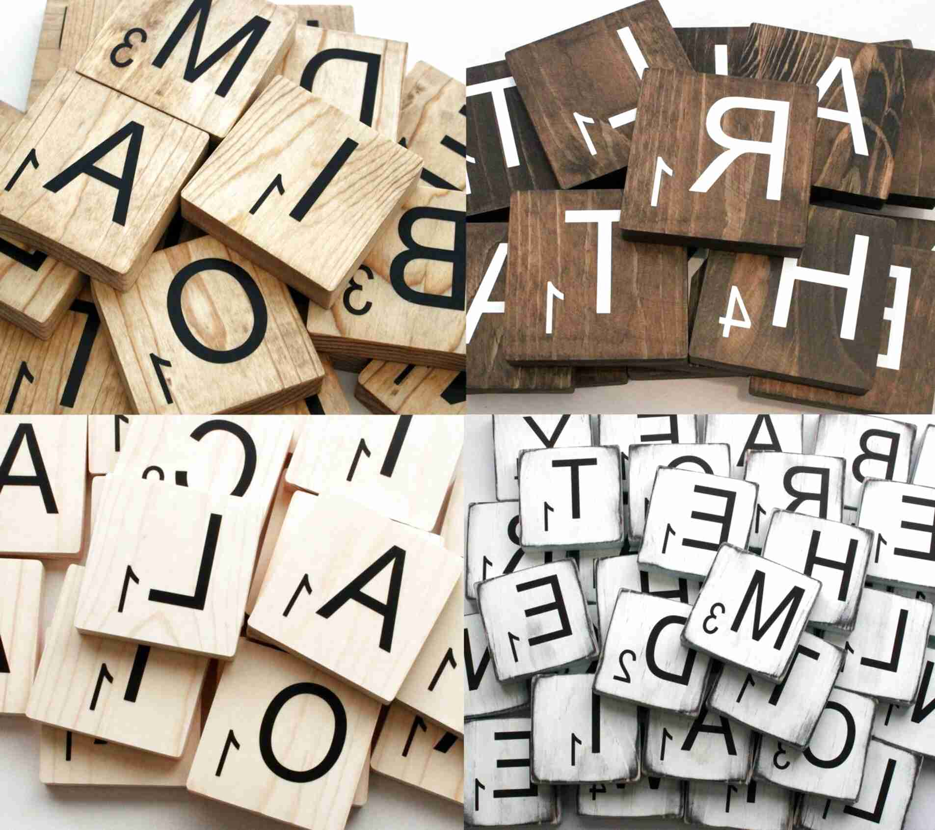 large scrabble letters for sale