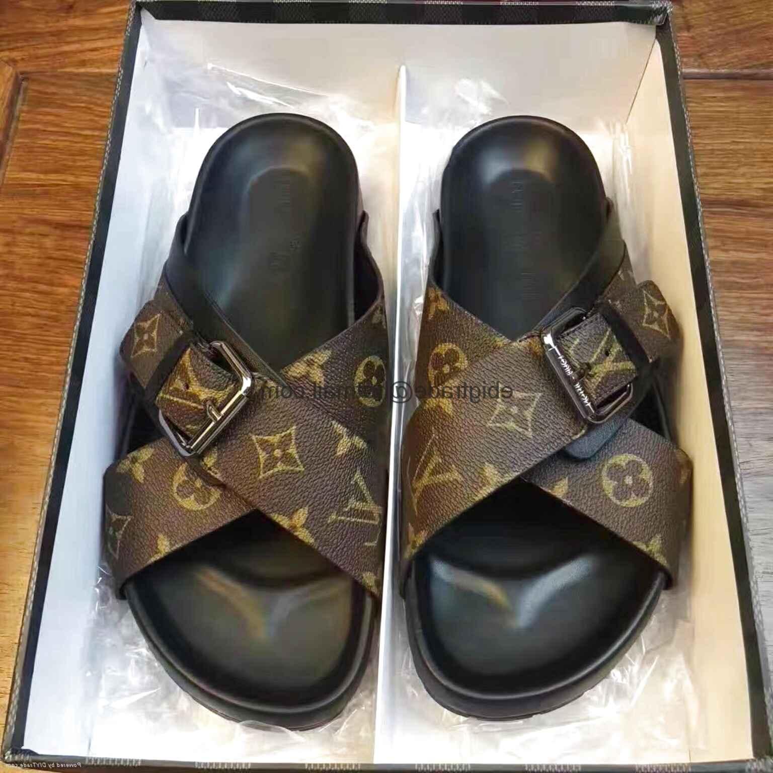 louis vuitton flip flops for sale