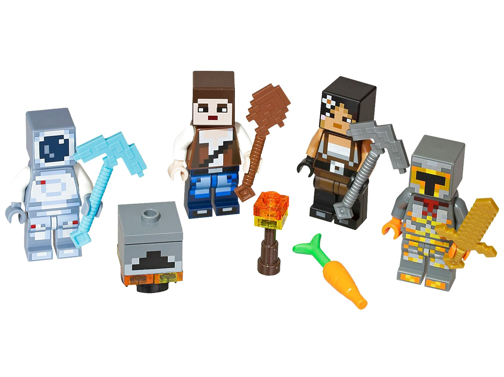 lego minecraft figures for sale