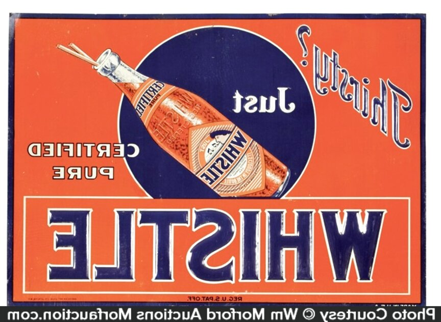 antique soda signs for sale