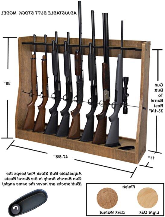 wall mounted gun racks for sale