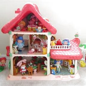 strawberry shortcake berry happy home for sale