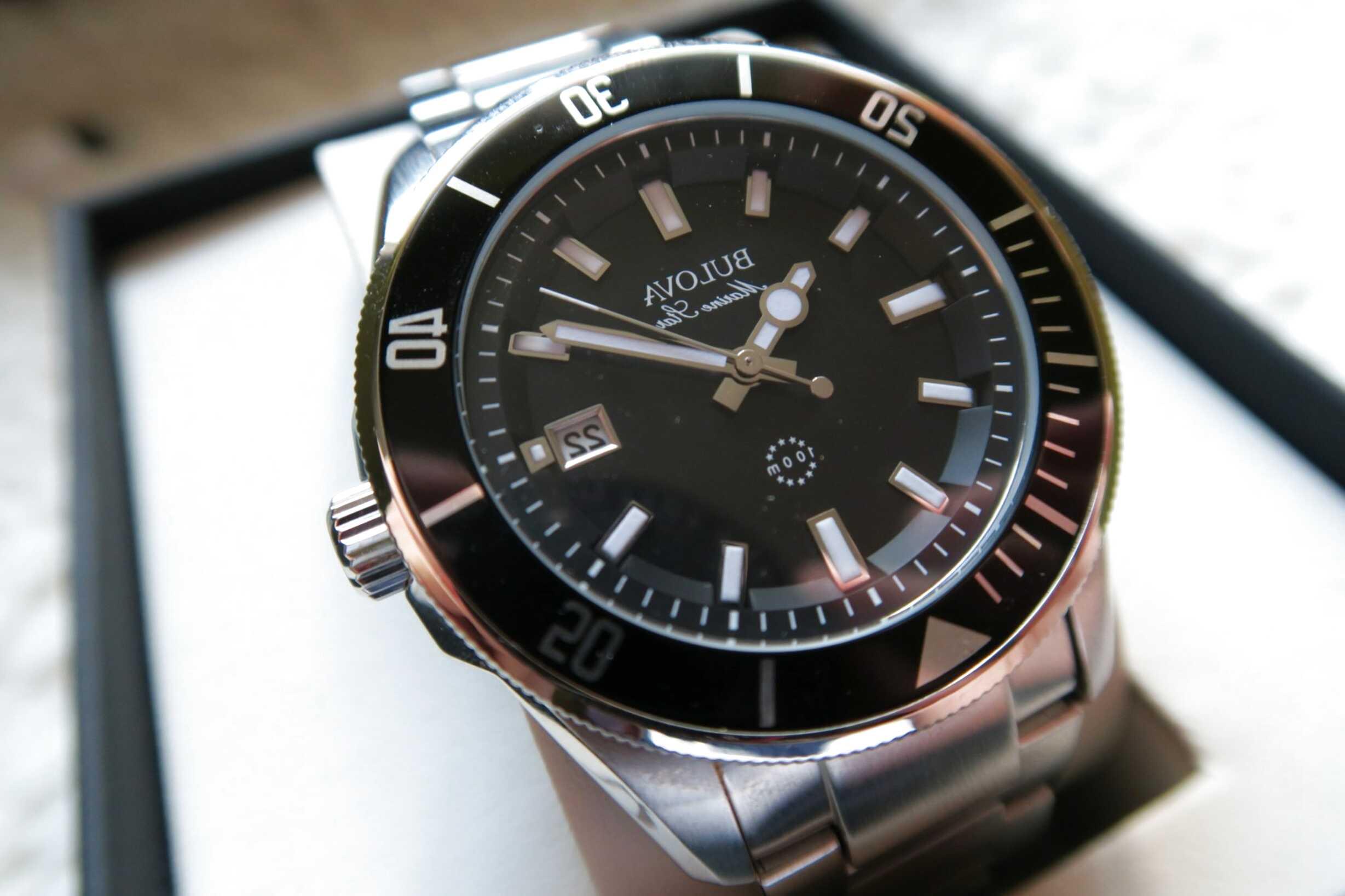bulova marine star watch for sale