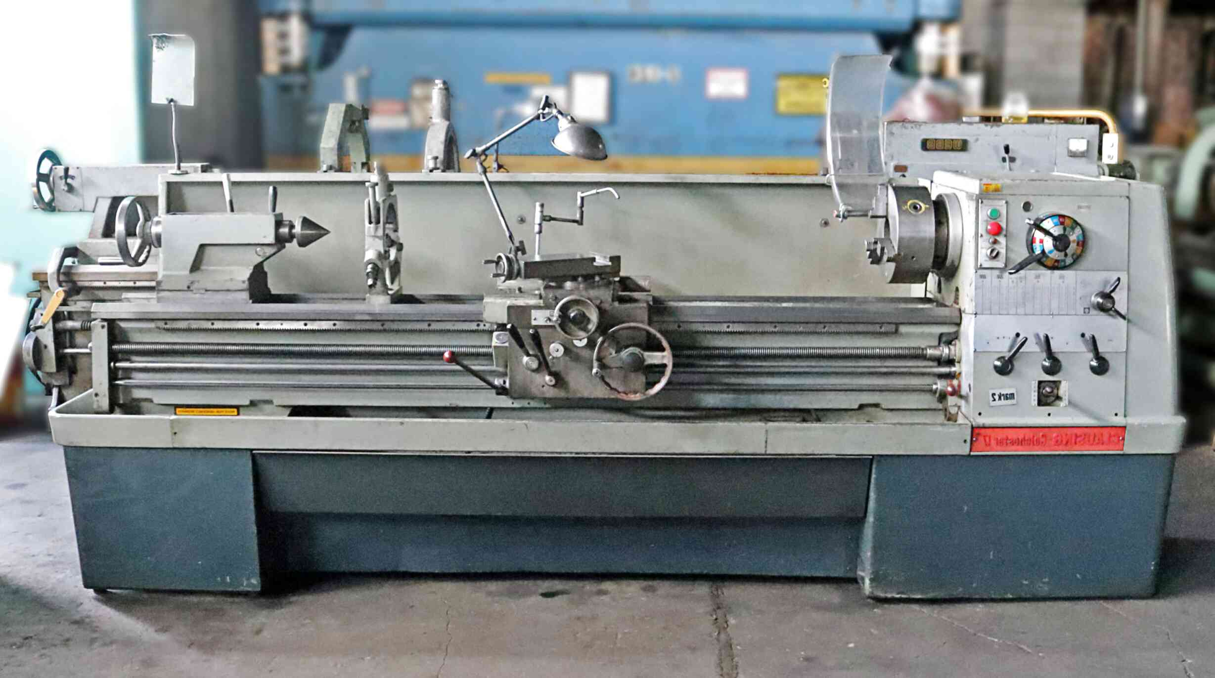 clausing colchester lathe for sale