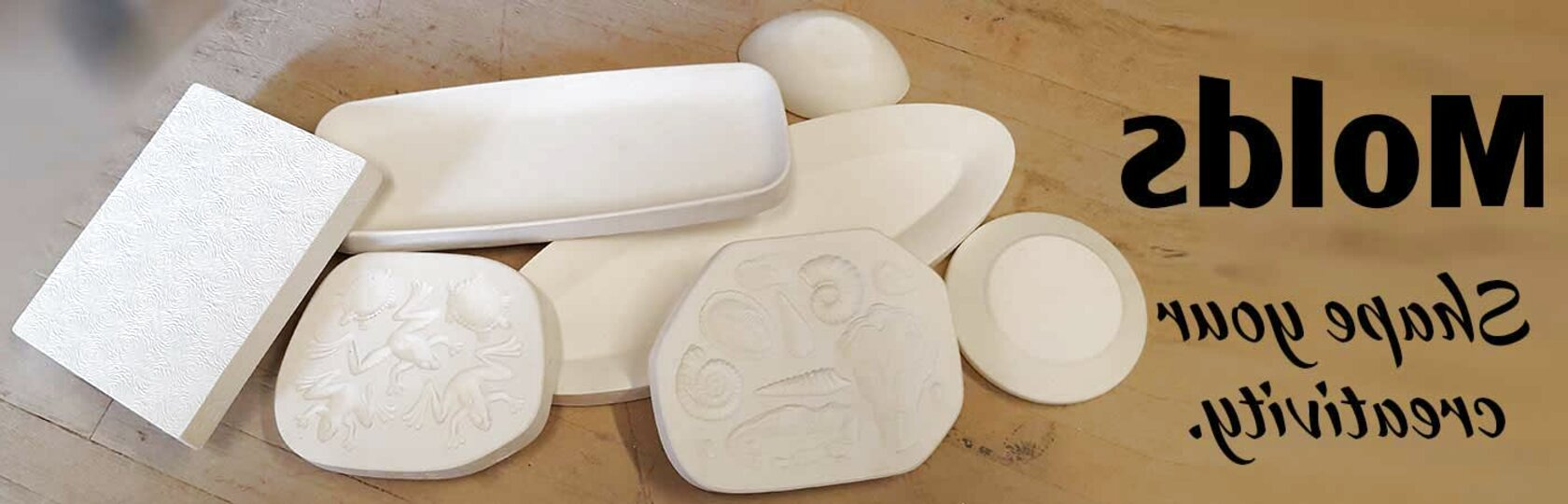 ceramic pottery molds for sale