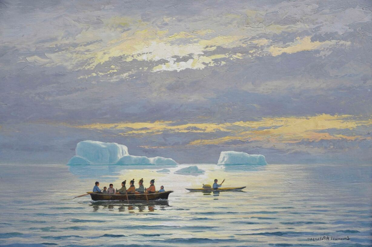 inuit paintings for sale