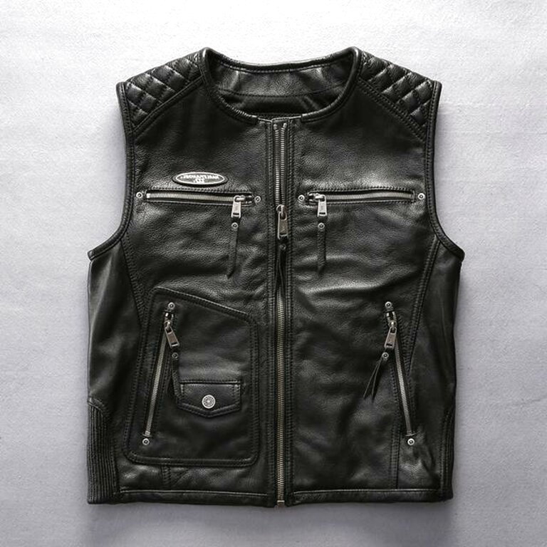 ha leather vest for sale