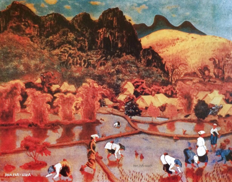 vietnamese lacquer art for sale