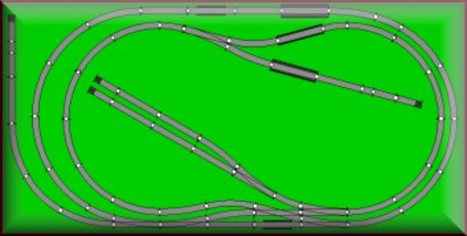 n scale train layouts for sale