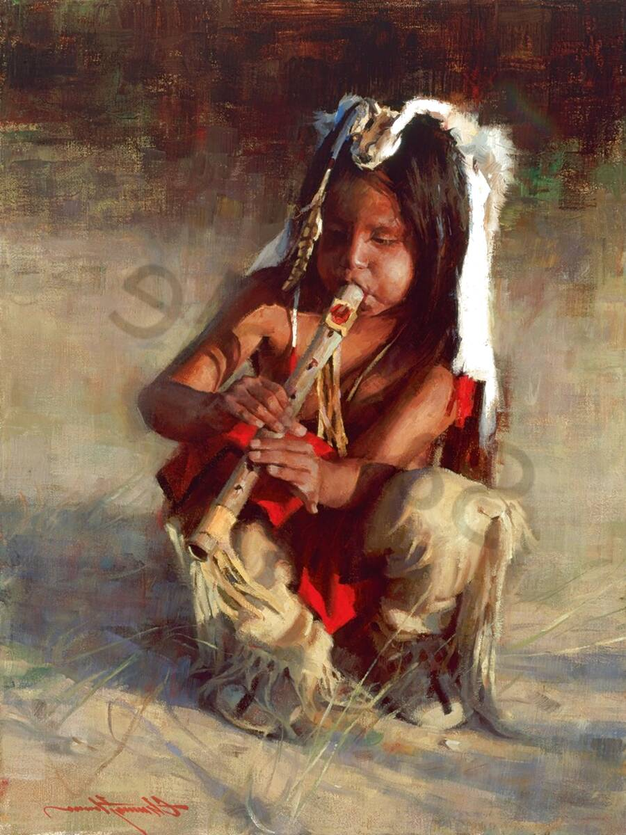 native american indian paintings for sale