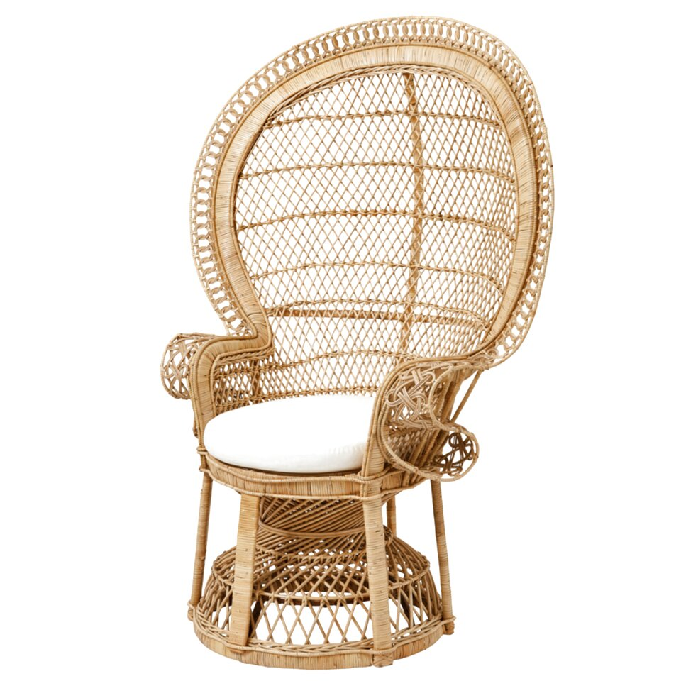 rattan peacock chair for sale