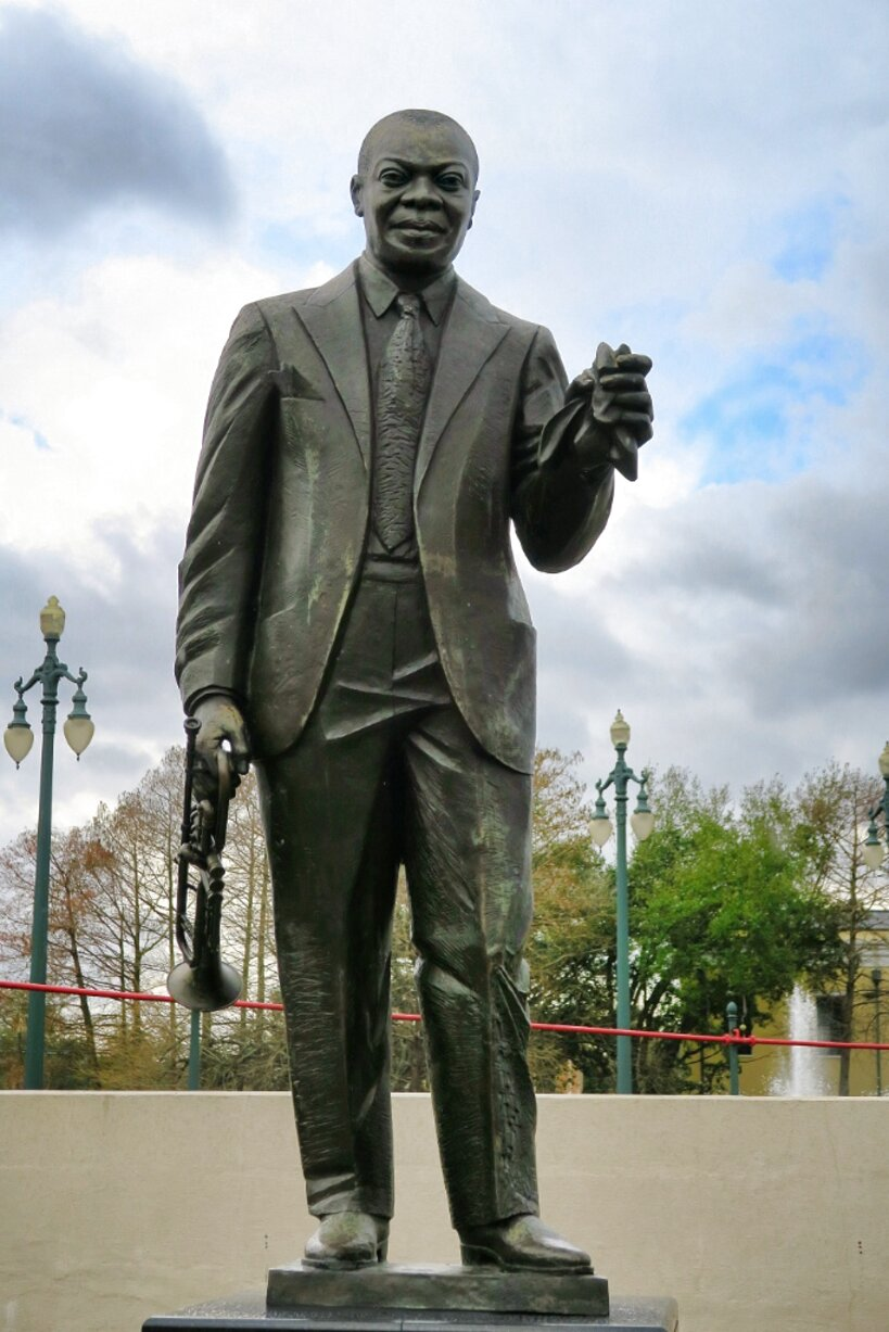 louis armstrong statue for sale