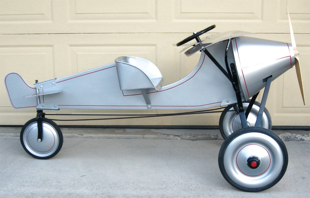 airplane pedal car for sale