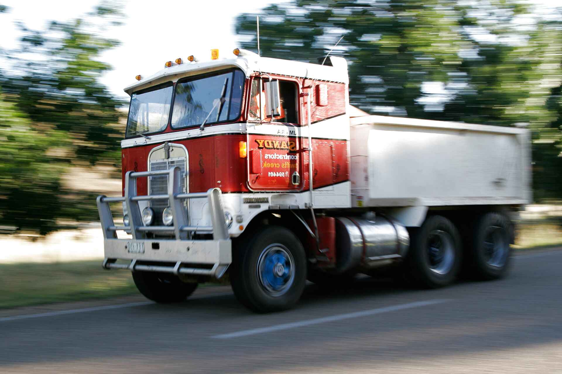 cabover tractor for sale
