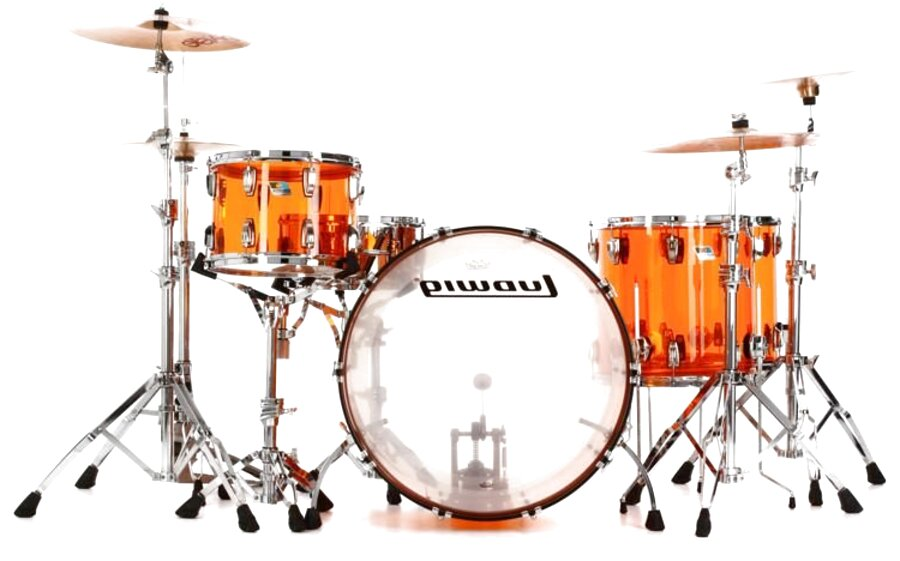 ludwig acrylic drums for sale