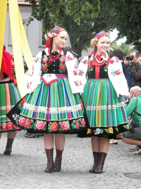 polish folk costumes for sale