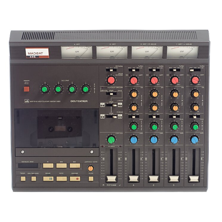 tascam 4 track cassette recorder for sale