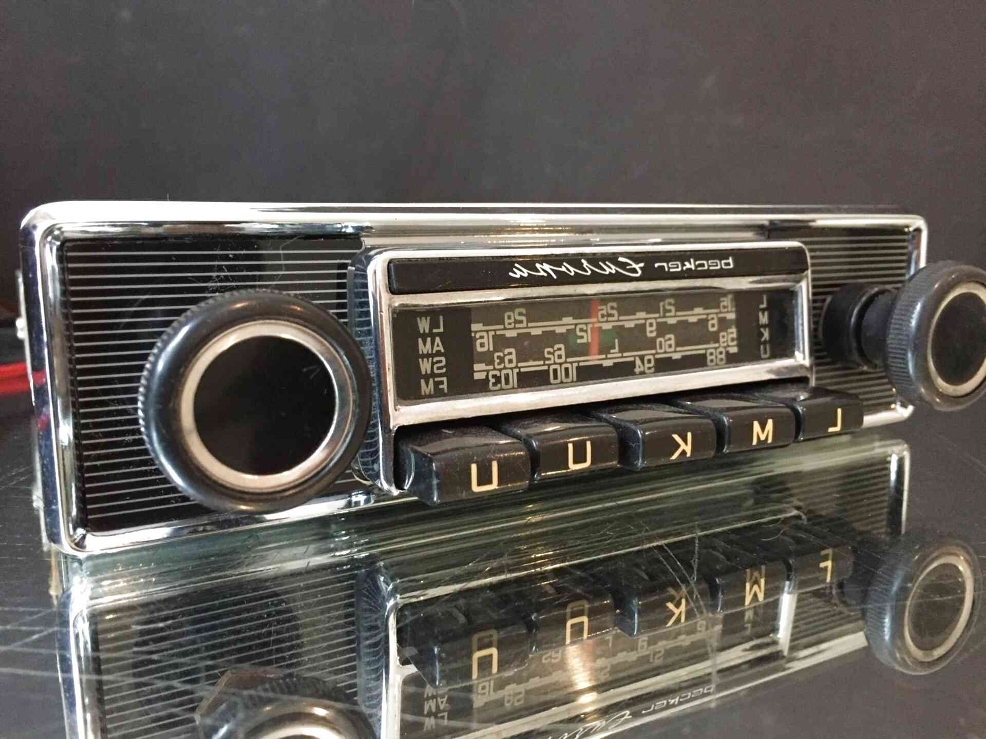 becker radio for sale