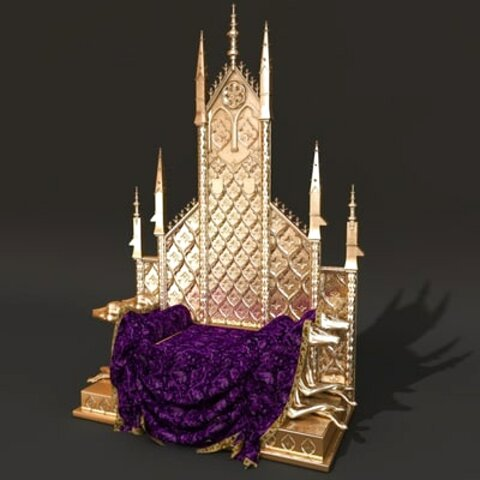 queen throne chair for sale