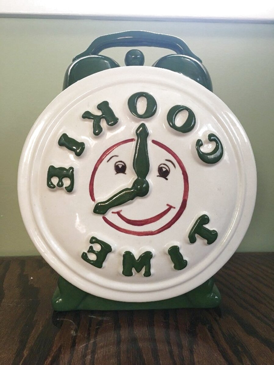 cookie time cookie jar for sale