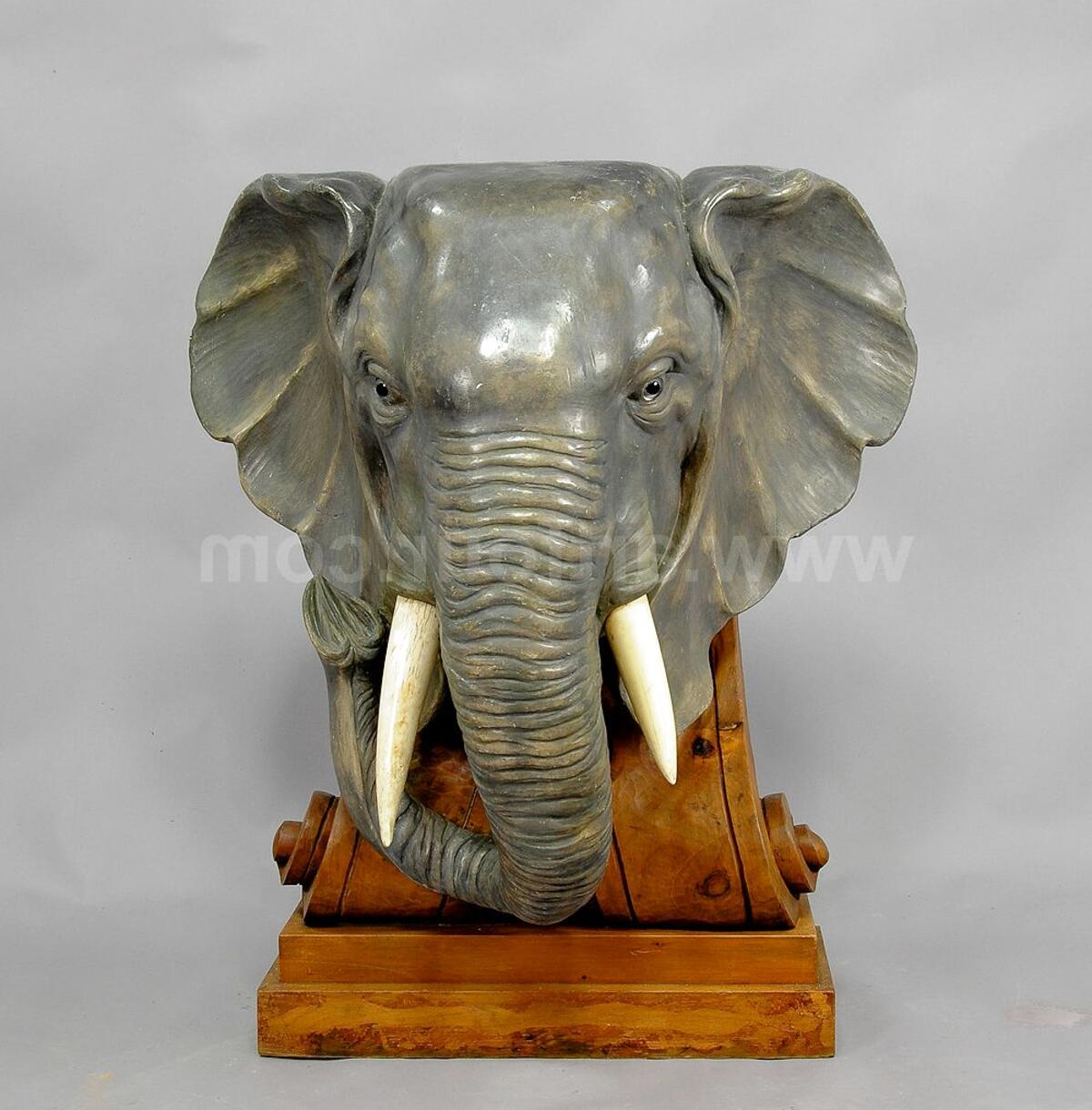 wooden elephant statue for sale
