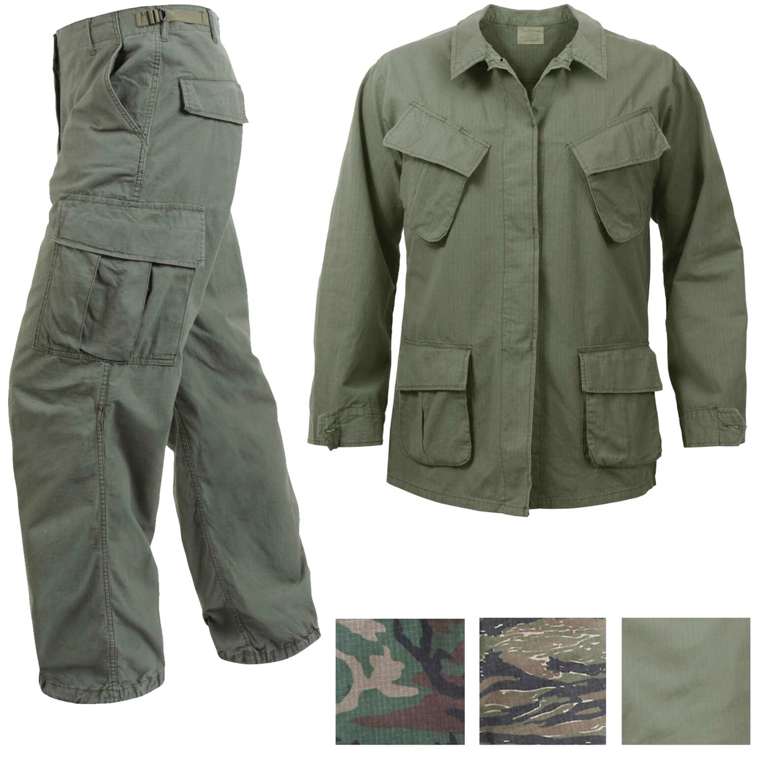 vietnam jungle fatigues for sale