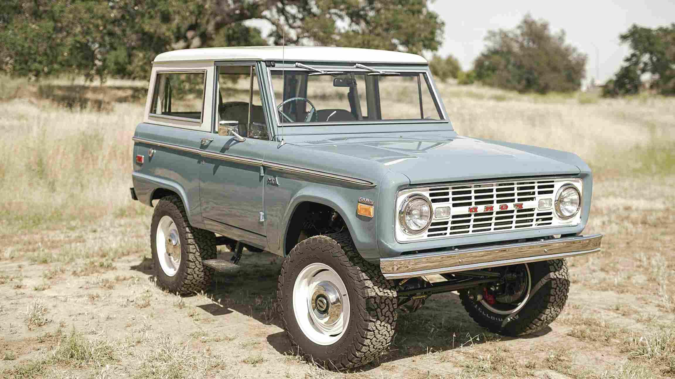 Original Ford Bronco For Sale In Canada