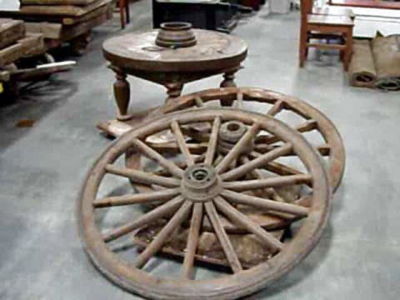 antique wooden wagon wheels for sale