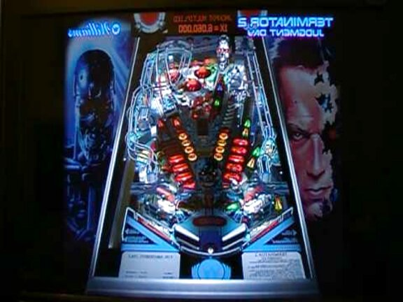 t2 pinball for sale